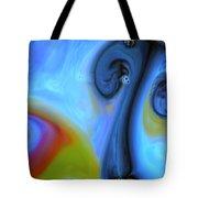 Mushroom Colors Tote Bag by Riad Belhimer
