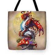 Mushroom Dragon Tote Bag
