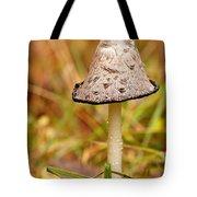 Shaggy Mane Mushroom Tote Bag