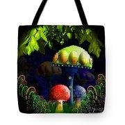 Mushroom Town Tote Bag