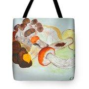 Mushrooms Time Tote Bag