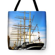 Mushulu At Penns Landing Tote Bag