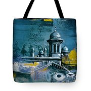 Music And Heritage Tote Bag by Catf