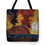 Music And Nature Tote Bag by Vickie Warner