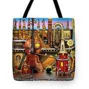 Music Castle Tote Bag
