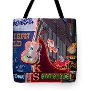 Music Clubs Nashville Tote Bag