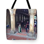 Music Echoes Under The Arches Tote Bag
