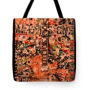 Music For Life All Is One Guitar   Tote Bag