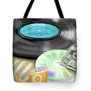 Music History Tote Bag