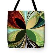 Music In Bird Of Tree Kaleidoscope Tote Bag