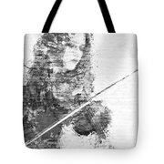 Music In My Soul Black And White Tote Bag