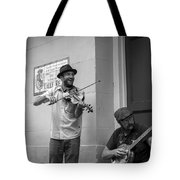 Music In The French Quarter Tote Bag