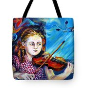 Music Lessons Tote Bag