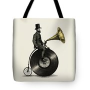 Music Man Tote Bag by Eric Fan