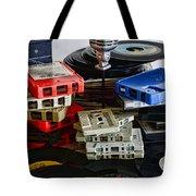 Music Memories Tote Bag