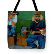 Music Of The Street Tote Bag