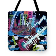 Music On The River Stl Style Tote Bag