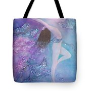 Music Only She Can Hear Tote Bag