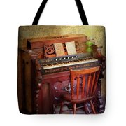 Music - Organist - Playing The Songs Of The Gospel  Tote Bag