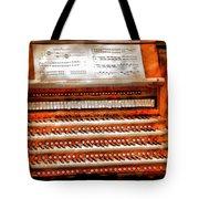 Music - Organist - The Pipe Organ Tote Bag by Mike Savad