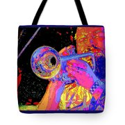 Music Out Of Metal V Tote Bag