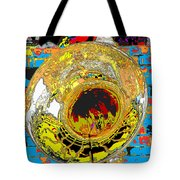 Music Out Of Metal Xiii Tote Bag