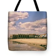 Music Pier From The Beach Tote Bag