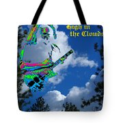 Music Up In The Clouds Again Tote Bag