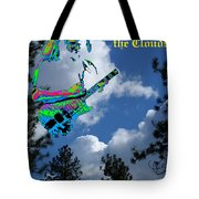 Music Up In The Clouds Tote Bag