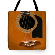 Musical Abstraction Tote Bag