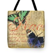 Musical Butterflies 2 Tote Bag