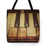 Musical Fingerprints Tote Bag