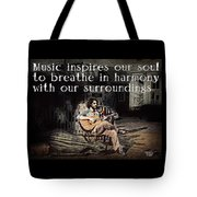 Musical Inspiration Tote Bag