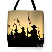 Musical Ride Tote Bag
