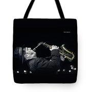 Musical Trip Tote Bag by Stwayne Keubrick