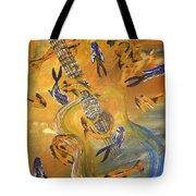 Musical Waters Tote Bag