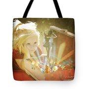Musicbox Magic Tote Bag