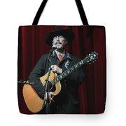 Musician Kinky Friedman Tote Bag