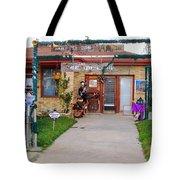 Musician Village Tote Bag