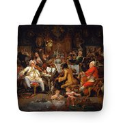 Musicians Of The Old School Tote Bag
