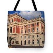 Musikverein Gesellschaft Der Musikfreunde Building Vienna Austria Tote Bag