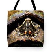 Musk Turtle Macro Tote Bag