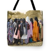 Muslim Girls Tote Bag
