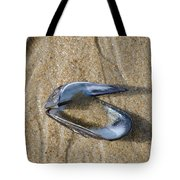 Mussel Shell On The Beach Tote Bag