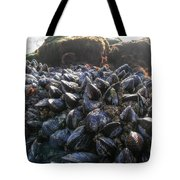 Mussels On A Rock Tote Bag