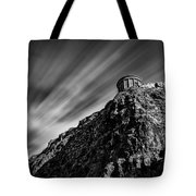 Mussenden Temple - On The Edge Tote Bag