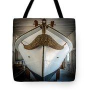 Mustache Boat Tote Bag