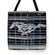 Mustang Emblem Tote Bag