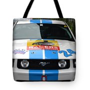 Mustang Race Car Tote Bag