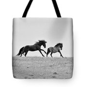 Mustangs Sparring 3 Tote Bag